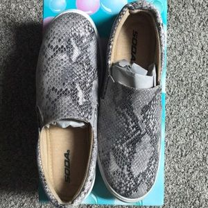 Boutique snakeskin shoes